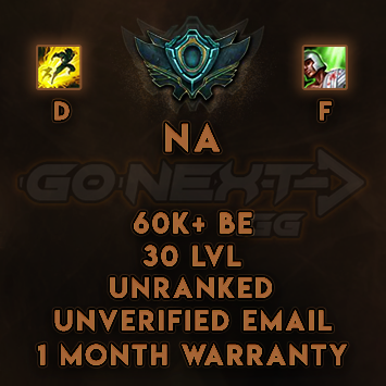 NA UNRANKED/UNVERIFIED SMURF | 60K+ BE | Flash on D