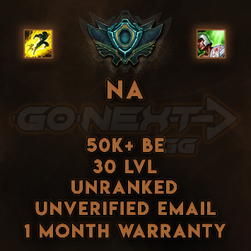 NA UNRANKED/UNVERIFIED SMURF | 50K+ BE