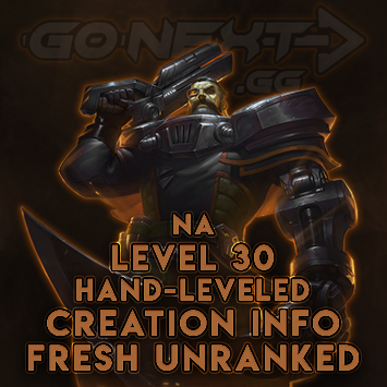 NA| Hand-Leveled Smurf| Level 30| Fresh Unranked| Creation Info
