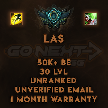 LAS UNRANKED/UNVERIFIED SMURF | 55K+ BE