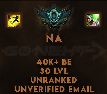 NA UNRANKED/UNVERIFIED SMURF | 40K+ BE |